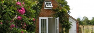 Garage conversion to studio / office, Cranleigh, Surrey